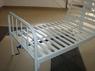 Кровать СМ 2.00.02-1/Мс винтовой регулировкой, с металлической рейкой